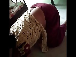 Desi mom voyeur without bra