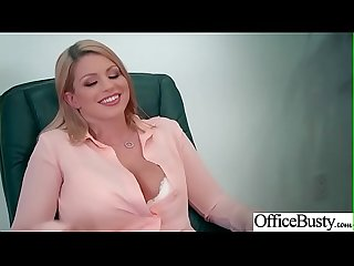 (Brooklyn Chase) Big Tits Sluty Girl In Hardcore Sex In Office clip-08