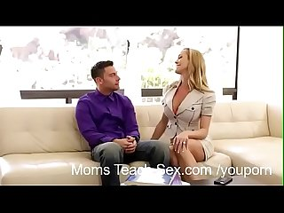 Mommy Brandi Love Shows Step-Daughter How Its Done