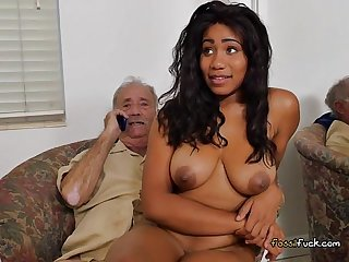Teen tara foxx craves old mens cocks and cash