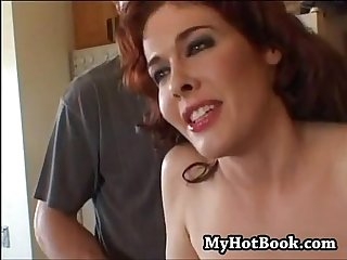 Mae victoria is in the kitchen when her hubby deci