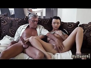 Cock in the horny old mom and daddy friend's daughter office xxx What