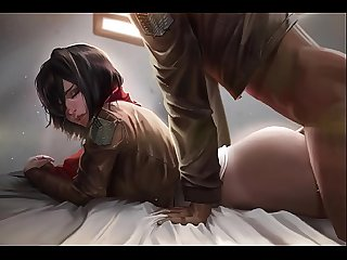 Attack on titan mikasa ackerman Slideshow