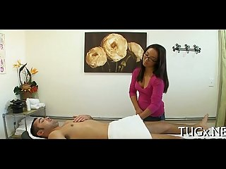 Simmultaneous sex and massage