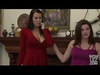 Lesbian babes Bree Daniels and Reagan Foxx