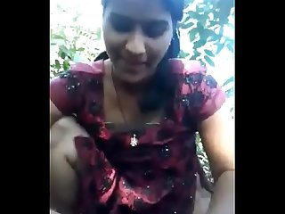 Desi girl very nice sucking n fucking in forest hornyslutcams period com