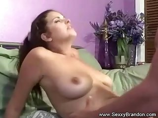 Amateur Brunette MILF Says Let's Fuck