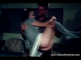 Old Time Threesome BJ For Dad