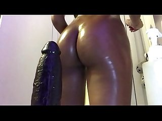 Horny girlfriend fucks stepdad after work