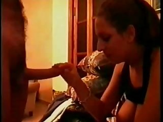 Amateur Greek girl sucking and swallowing 2
