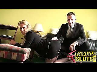 Hot Sasha Steele enjoyed getting her pussy pounded by Pascal