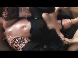 3d Porn Game (Witcher Yennefer) GangBang Blowjob DeepThroat �?��?� FULL Porn GAME on..