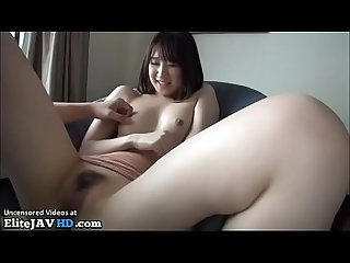 Japanese tiny girl accepts to get fucked