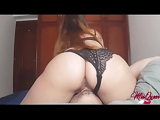 She fucks his face until gets multiples Orgasm ! - By Mia Queen