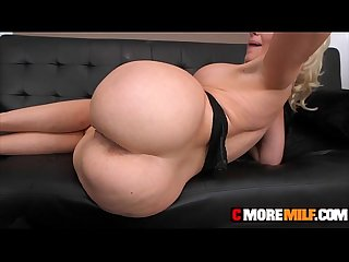 MILF Alena Croft get down on big cock to pay dept