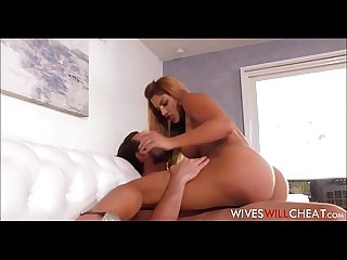 Sexy Latina Cougar Wife Mercedes Carrera Cheats On Husband With His Assistant After Finding..