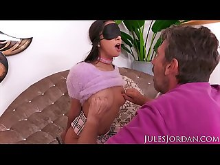 Jules Jordan - Gianna Dior, This Natural, Young Slut Puppy Gets Trained By An Old Man