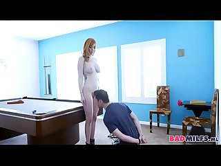 Daughter Learning The Ropes From Femdom Mommy