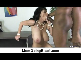 Interracial sex MILF fucked by monster cock 2