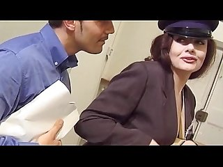 Jessica Rizzo as the hot Mailwoman fucked in the ass