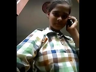 Cute Indian Girl Record Nude Selfie For Bf