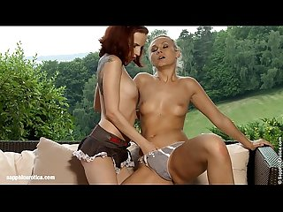 Rainy Rendezvous - by Sapphic Erotica lesbian sex with Tania Leila