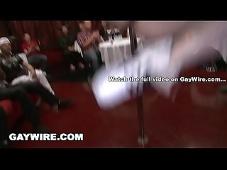 GAYWIRE - Let's Get This Sausage Party Started! Big Dick Male Strippers Taking Charge