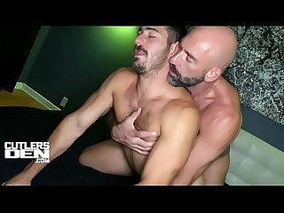 DREW SEBASTIAN FELIX GT BB MONSTER COCK ROUGH RAW FUCK AND CUM FEEDING
