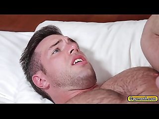 Johnny swaps blowjob and anal fuck Alex