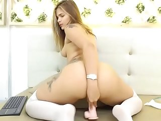 Young Latina slut with hot big ass