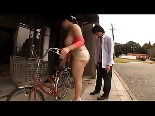 JAV - Big tits girl,round ass Chitose Yura broken car, try young people crossing the..