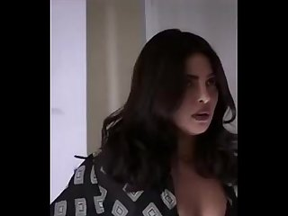 Indian bollywood actress priyanka chopra showing boobs hot black bikini sexy