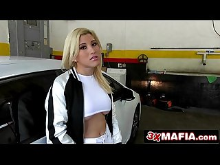 Sexy Blonde Latina Cristi Ann Gives Random Dude an Unforgettable Ride