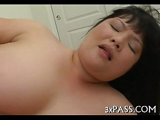 Unforgettable obese blow