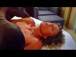 Cuckold wife sucks and fucks with black man