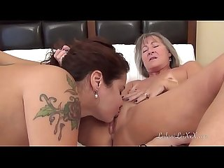 Leilani Lei Sensually Awakens Her Girlfriend Ginary