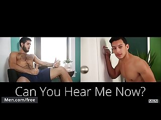 Diego Sans and Zayne Hardy - Can You Hear Me Now - Tube preview - Men.com