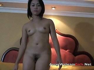 Hot Asian Filipina bar girl hooker dances nude AsianCamsLive.com