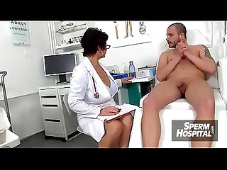 Mom boy medical porn scene feat. Czech MILF doctor Gabina
