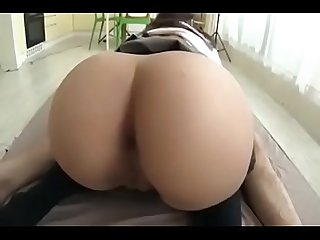 BIG BOOTY JAPANESE WHORE GETS HER CHEEKS CLAPPED