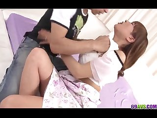 Strong XXX Japanese fuck with Hikaru Wakabayashi - More at 69avs.com
