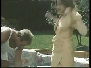classic british slut louise gets fucked in the garden