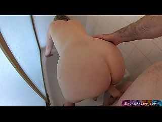 Fucking my stepdad in the shower - Erin Electra