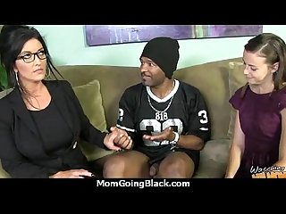 Beautiful mom with puffy pussy fuck a black dick 18