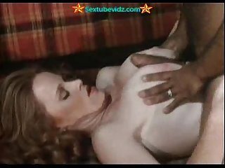 Ron Jeremy Plowing Two Hairy Pussies
