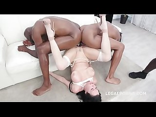Waka Waka Blacks are Coming with Veronica Avluv 4 BBC total balls deep, squirting,..